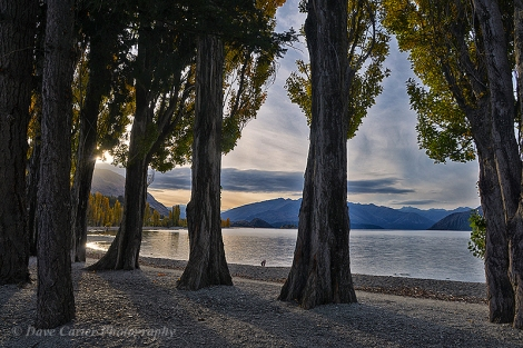 An Evening by the Lake (Wanaka, New Zealand)