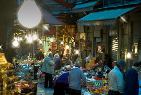 La Vuccirio Market, Palermo, Sicily