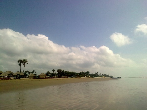A small coastal village in rural Bengal, West Bengal, India
