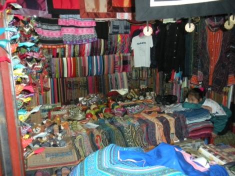 Market Stall in Sapa, N Vietnam