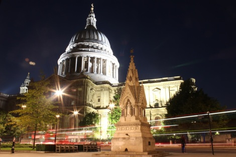 St Pauls at Night